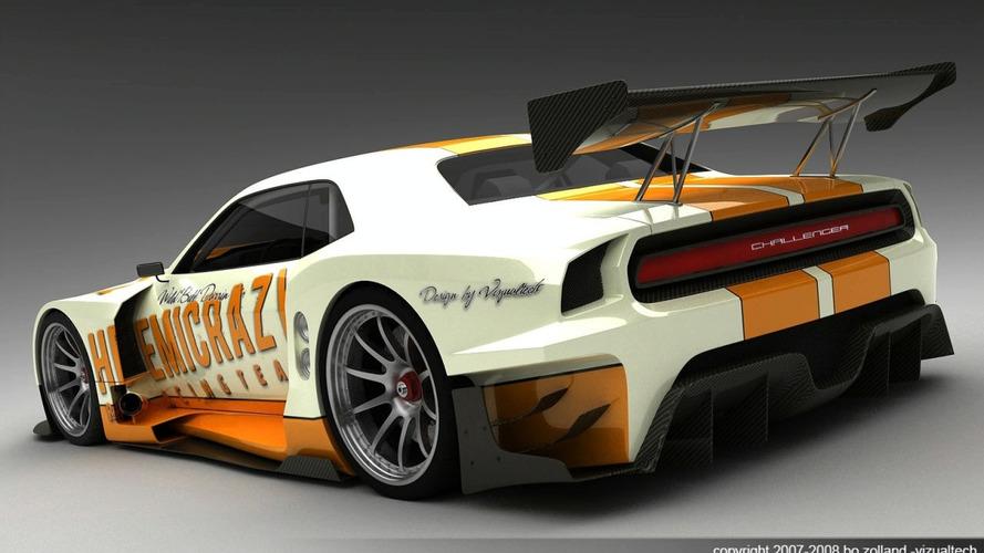 3D Rendered: Ultimate Le Mans Dodge Challenger 2009