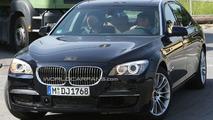 BMW 7-Series F01 M-sport package spy photo