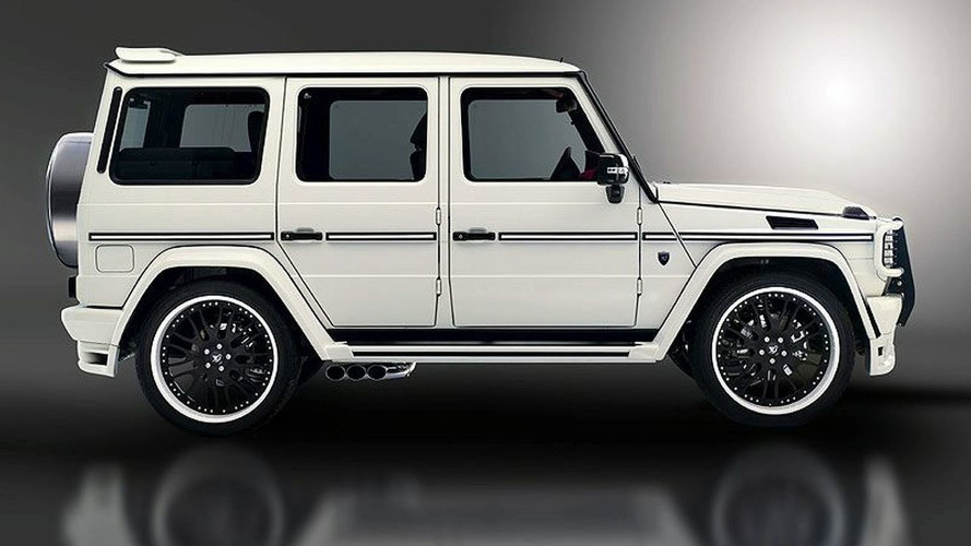 Hamann Typhoon based on Mercedes G55 AMG Revealed