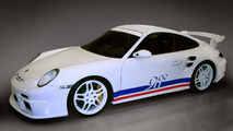 9ff GTurbo based on Porsche 997 GT3 and 997 GT3 RS