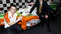 Paul Di Resta, Announced as Force India F1 Team Reserve Driver, Glasgow, Scotland, 02.02.2010