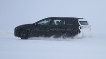2012 Volvo V60 Spied Testing on Frozen Lake