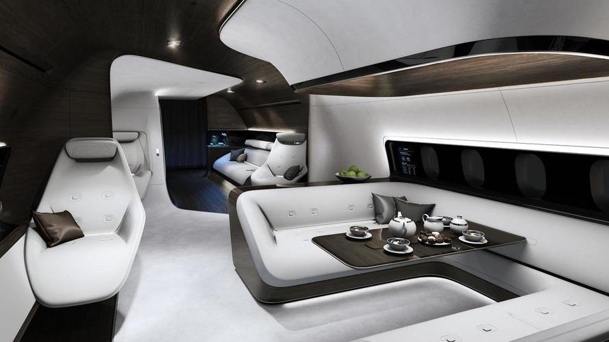 Mercedes-Benz Style & Lufthansa create an ultra-luxury aircraft interior