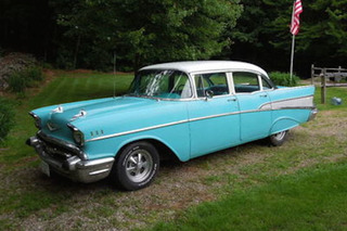 Best Son Ever Buys His Dad A '57 Chevy For His 57th Birthday [Video]