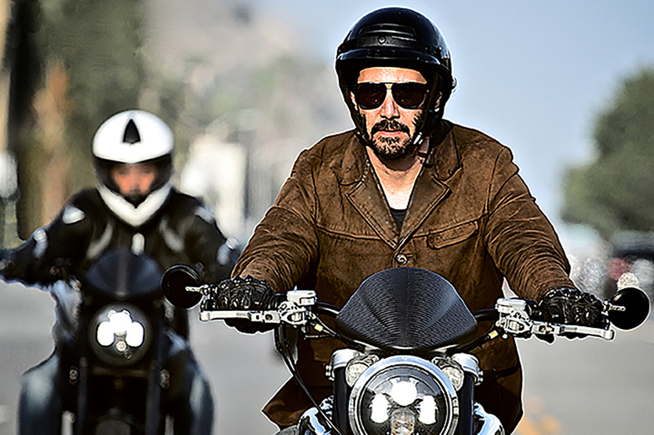 Keanu Reeves Started an Expensive Motorcycle Company