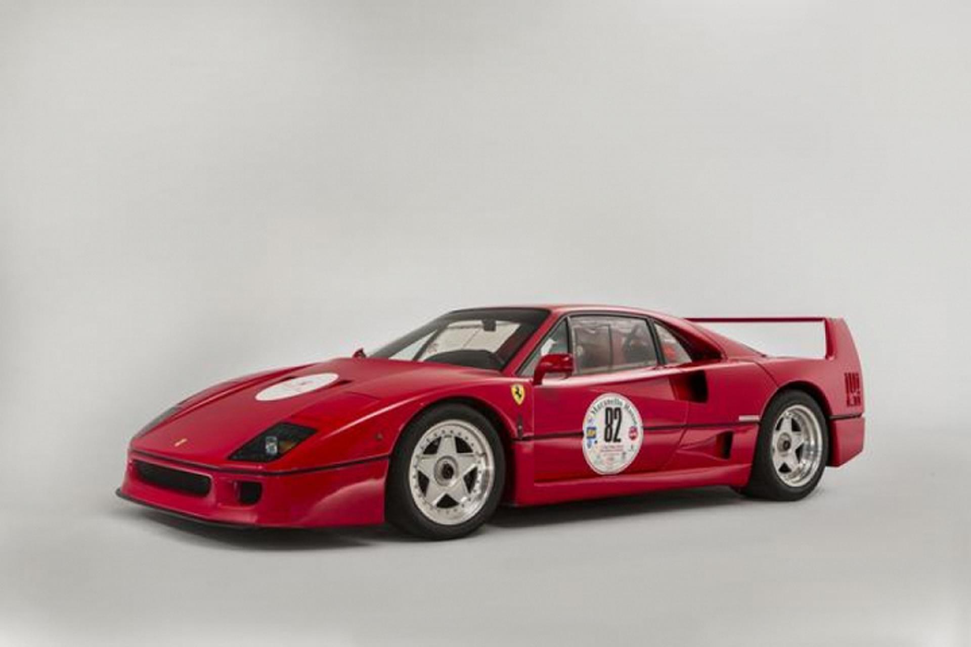 1991 Ferrari F40 Brings Over $1 Million at Goodwood Revival Auction