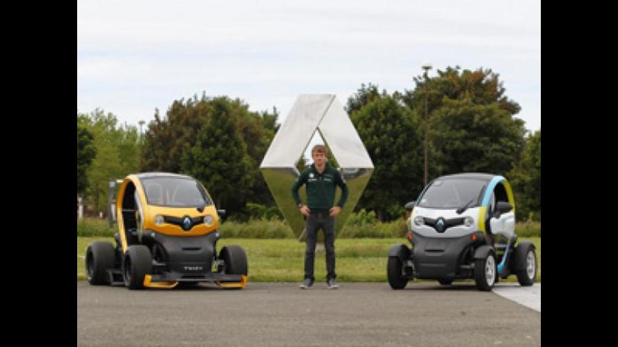 Renault Twizy incontra la Formula 1 e la mobilità sostenibile con Charles Pic