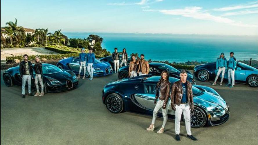 Bugatti, le sei Leggende da 13,18 milioni di euro ora sono… vestiti!