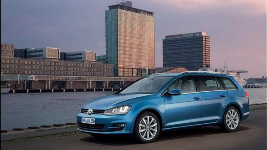 Nuova Volkswagen Golf Variant, listino prezzi della station wagon da 19.600 euro