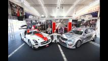 Mercedes C 63 - AMG CAAL Racing e Vitantonio Liuzzi