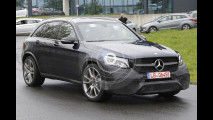 Mercedes-AMG GLC 63, le foto spia