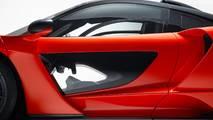 2018 McLaren Senna - Átlátszó üvegpanel az ajtóban
