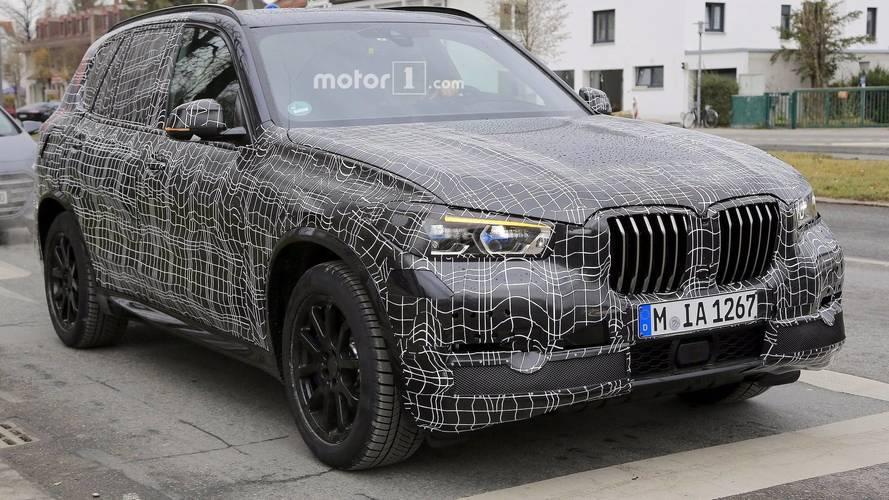 New BMW X5 looks aggressive in latest spy shots