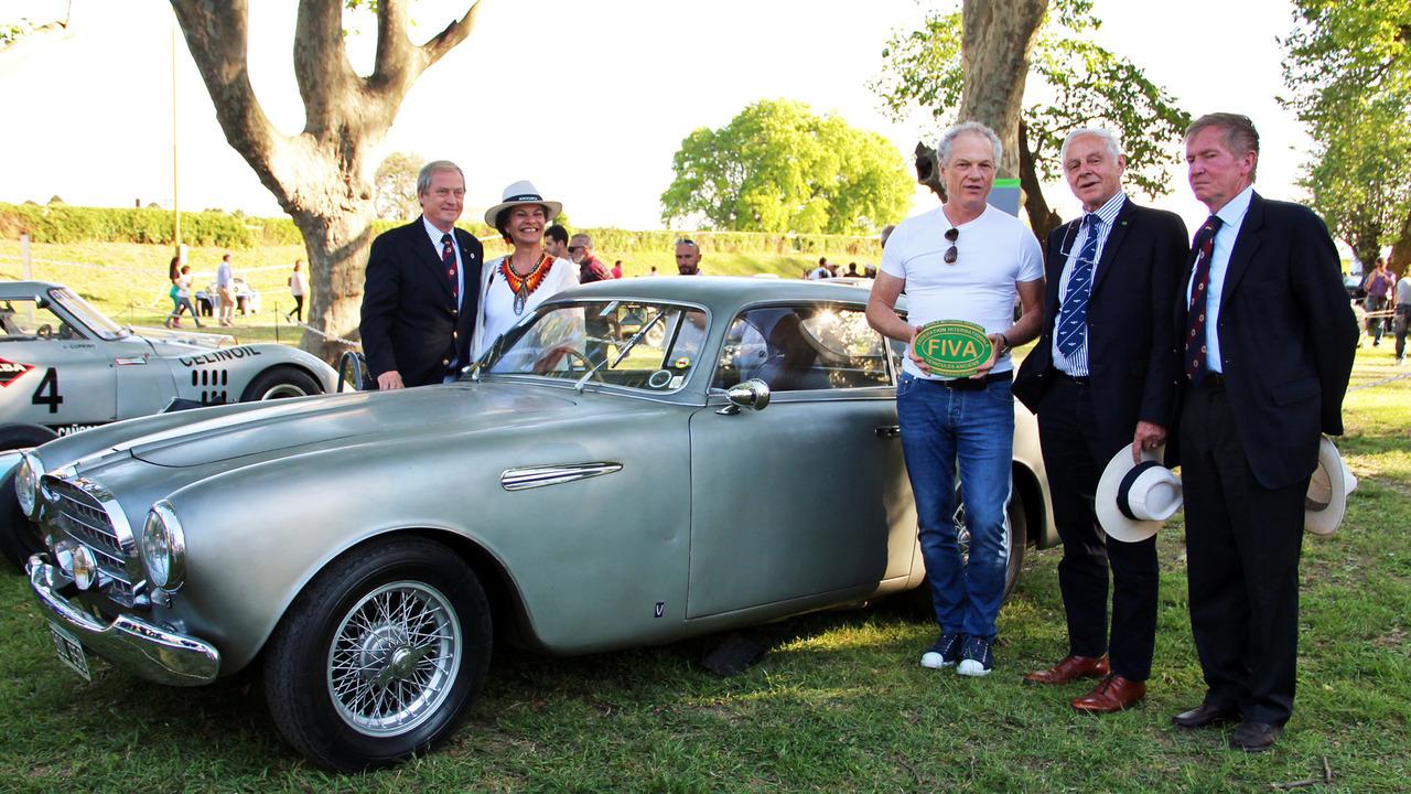 1952 Ferrari 195 Vignale prized by