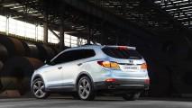 Hyundai lançará Grand Santa Fe para a Europa em Genebra