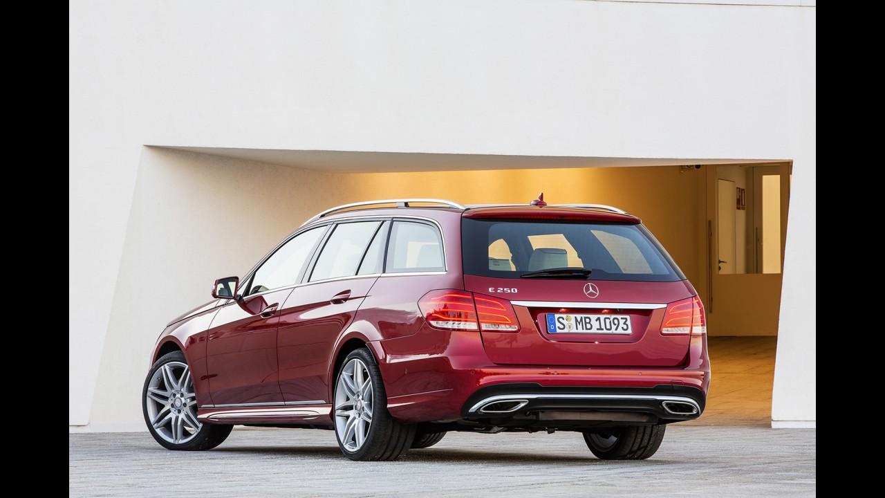 Mercedes-Benz oficializa reestilização do Classe E - Confira galeria de fotos completa