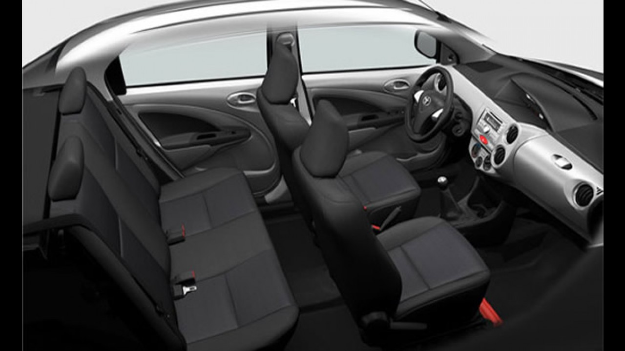 Novo Toyota Etios já é apresentado aos brasileiros... virtualmente
