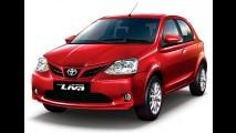Toyota Etios reestilizado tem primeiras imagens oficiais divulgadas