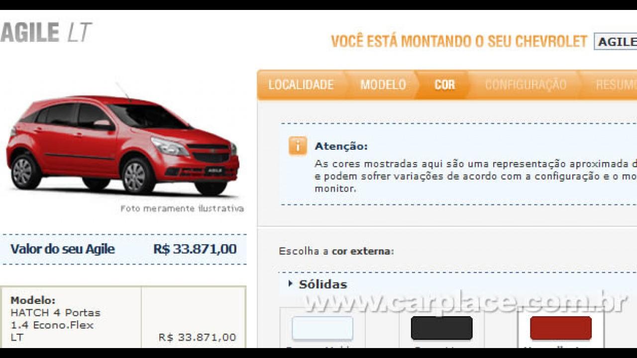 Mais barato: Chevrolet tira itens e já anuncia Agile LT básico por R$ 33.871 no seu site