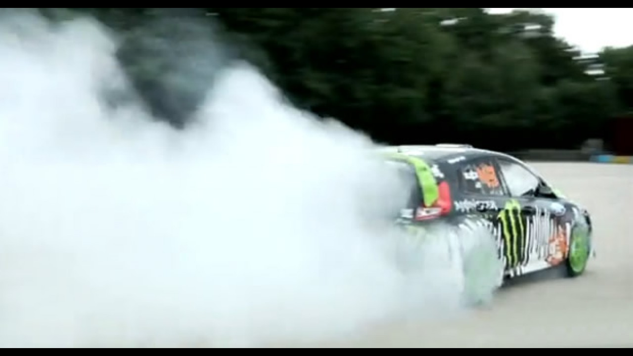 VÍDEO: Ken Block + New Fiesta com 650cv no Gymkhana THREE