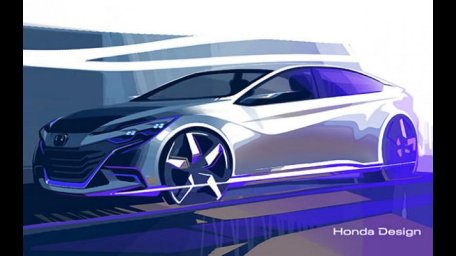 Honda vai apresentar conceito esportivo no Salão de Pequim