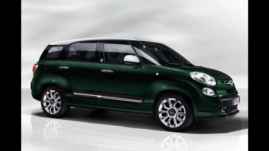 Fiat Living é inédita opção de sete lugares do 500L para a Europa
