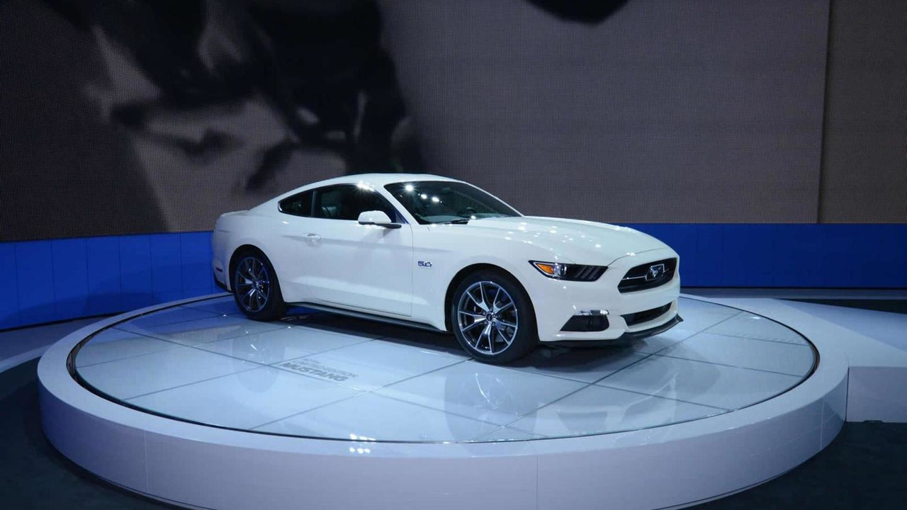 Ford Mustang 50 Year Limited Edition at 2014 New York Auto Show