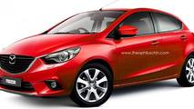 2014 Mazda2 render