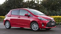 Toyota Yaris facelift (pre-production AU-spec)