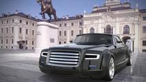 Russian presidential limo concept by Yaroslav Yakovlev and Bernard Weel 18.7.2013