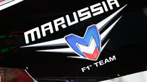 Marussia F1 Team logo 11.05.2012 Spanish Grand Prix