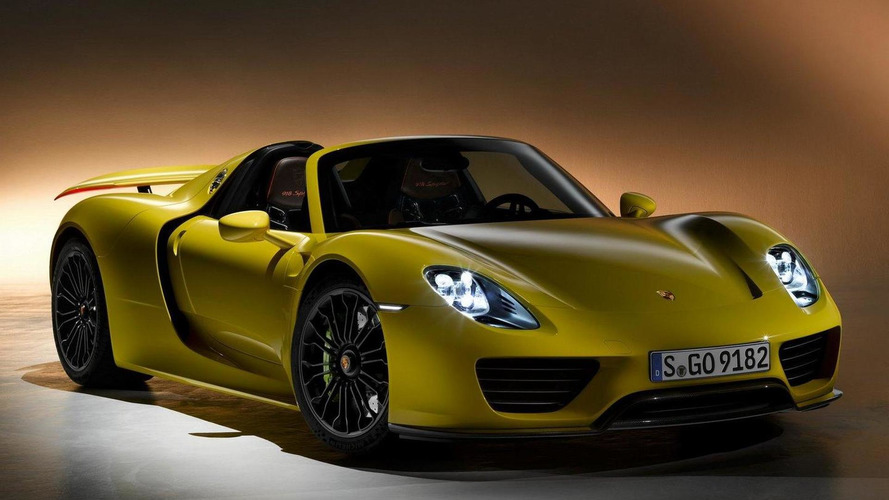 Porsche says 918 Spyder almost sold out