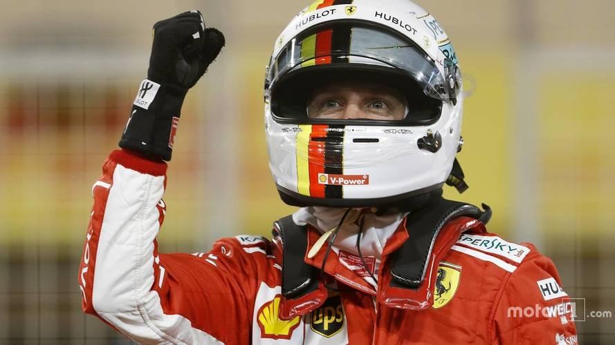 2018 Bahreyn GP'de Ferrari ilk iki sırada start alıyor