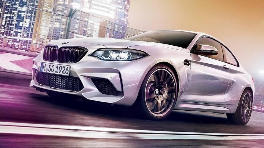 BMW M2 Competition'ın resmi fotoğrafları sızdırıldı!