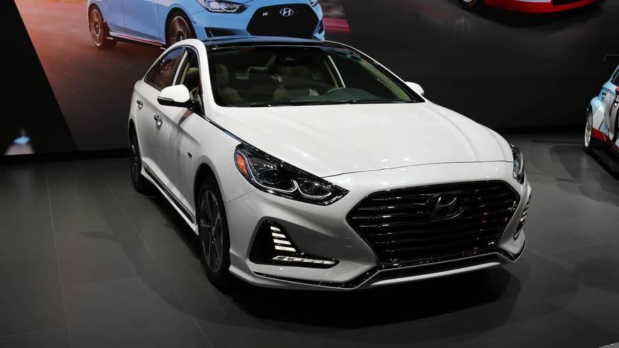 2018 Hyundai Sonata Hybrid And Plug-In Hybrid