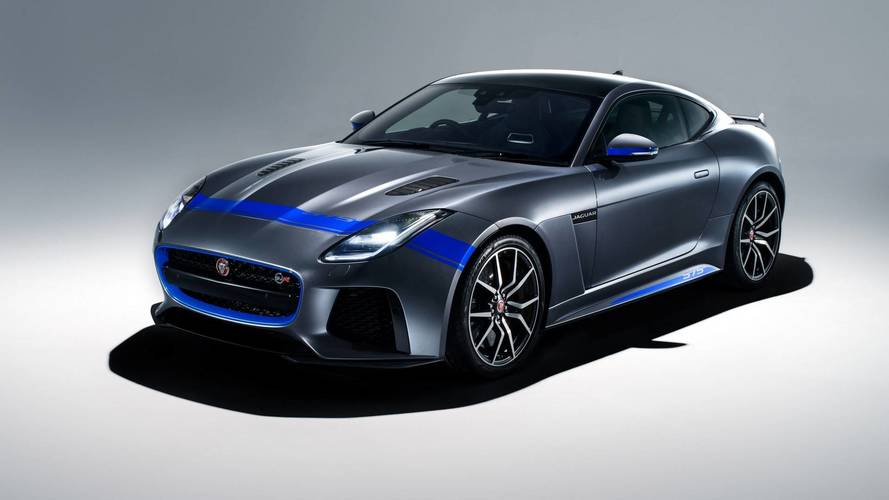 Jaguar F-Type SVR Graphic Pack, per dare nell'occhio