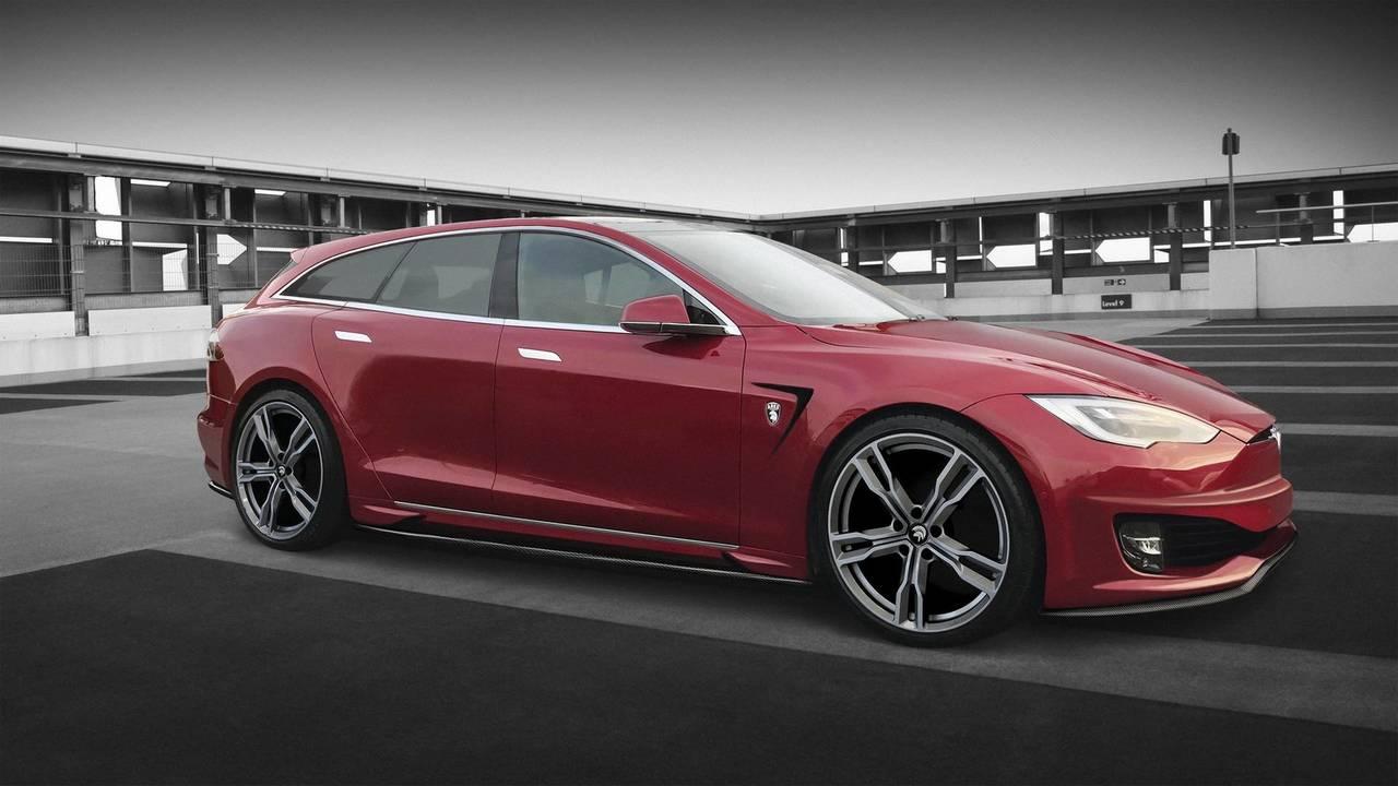 Ares Design Tesla Model S Wagon