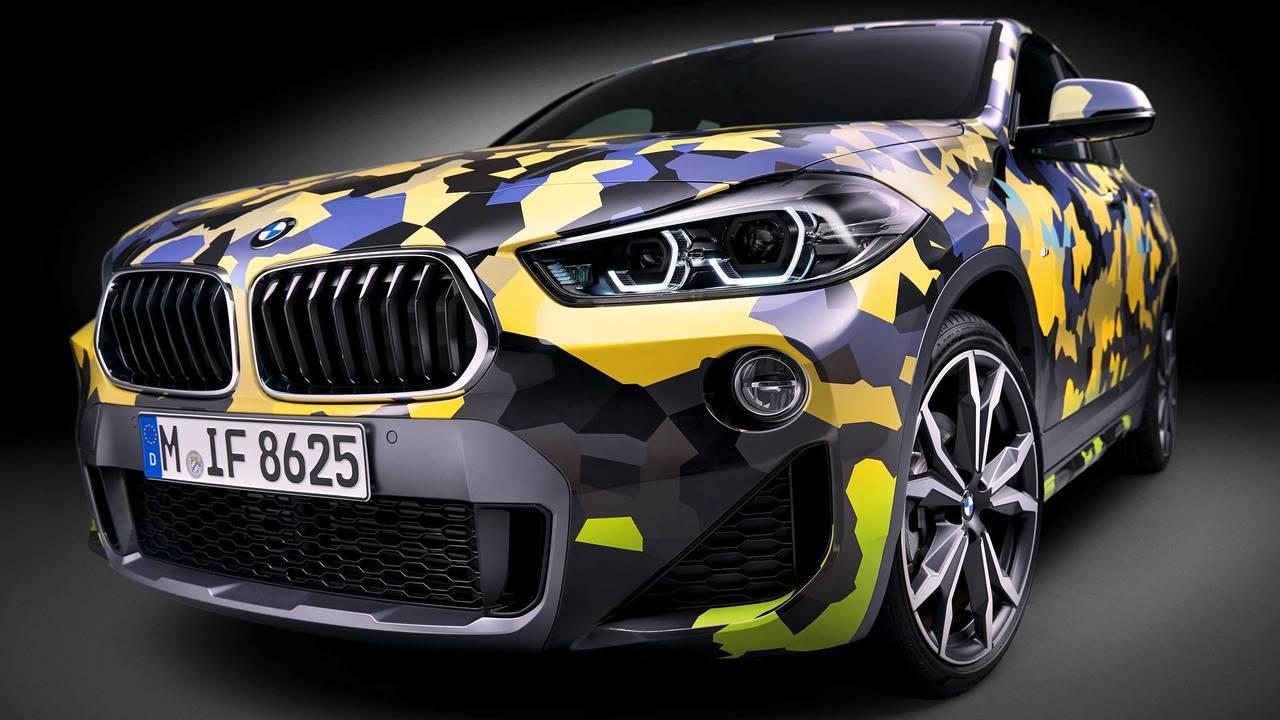BMW X2 camo paint option