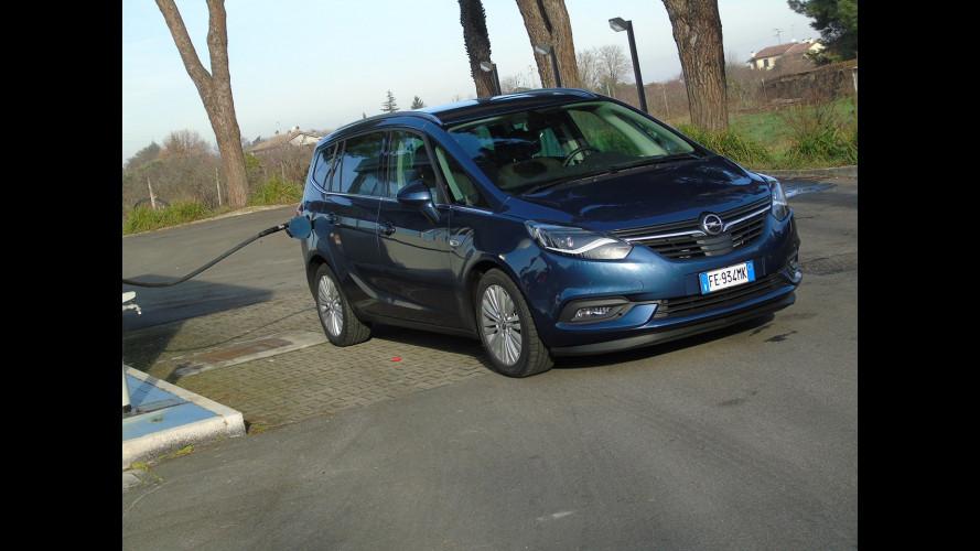 Opel Zafira 2.0 CDTI, la prova dei consumi reali