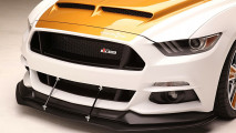 Supercharged 750-hp Ford Mustang puts on flashy suit for SEMA 007