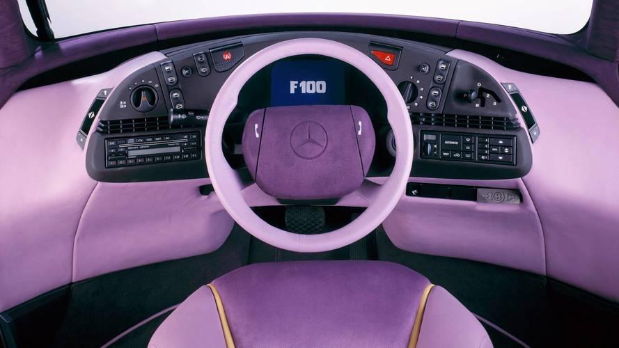 Curiosidade: Mercedes F100, um carro-conceito esquecido 1991-mercedes-f100-concept