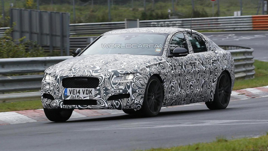 All-new Jaguar XF spied 'Ring testing ahead of possible 2016 launch