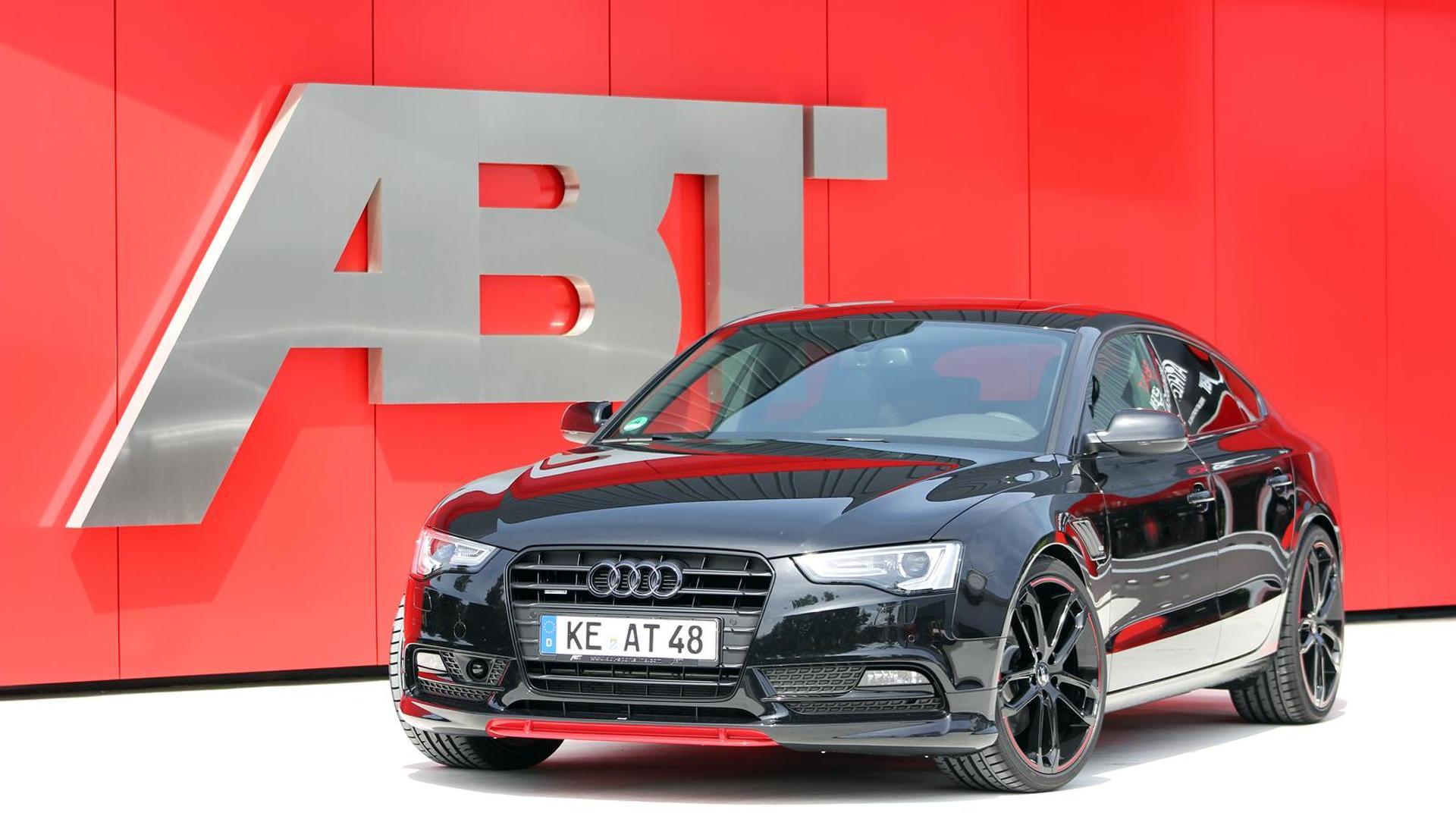 Чёрная Audi AS5 DARK от ABT Sportsline