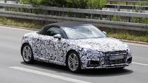 2015 Audi TT Roadster spy photo