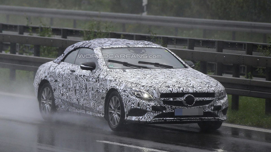 Mercedes S-class Convertible coming later this year