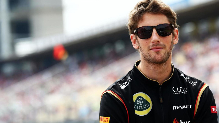 Grosjean in no hurry to secure F1 future
