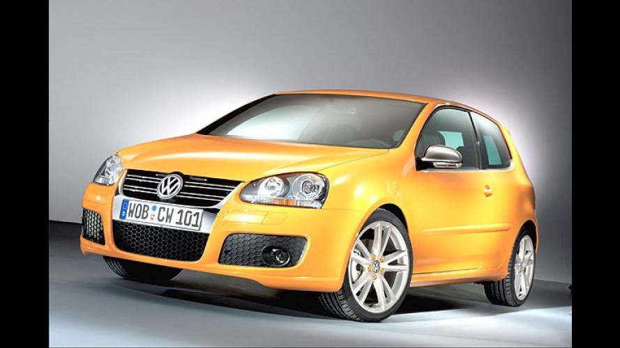 Kreisch Gelb oder knallig Orange: Der VW Golf Speed kommt