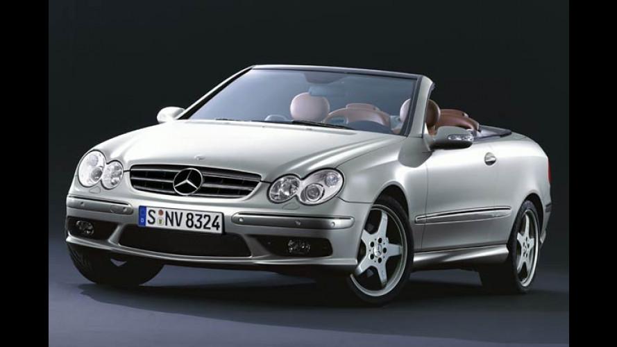 Pariser Modenschau: Mercedes CLK von Giorgio Armani