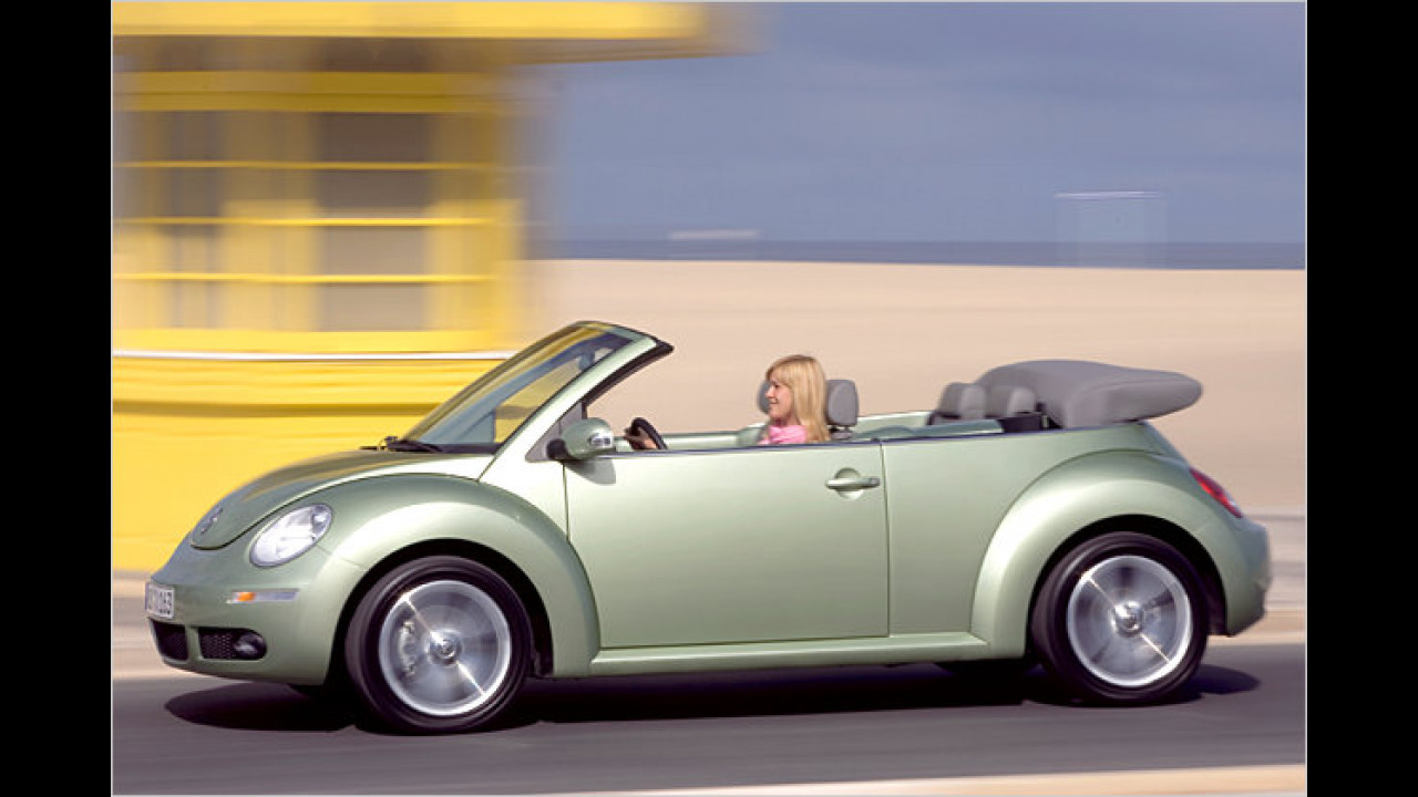 VW New Beetle Cabrio 1.4