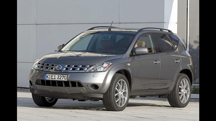 Nissan Murano Selection mit viel Leder und großen Rädern